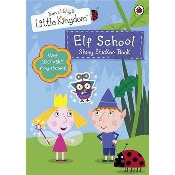 little kingdom: elf school shiny sticker book  本和霍利的小王国