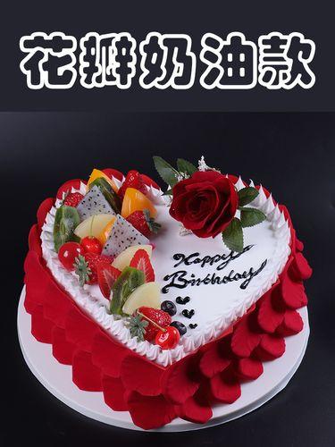 蛋糕模型仿真2020新款网红欧式水果生日假蛋糕塑胶橱窗样品可定制