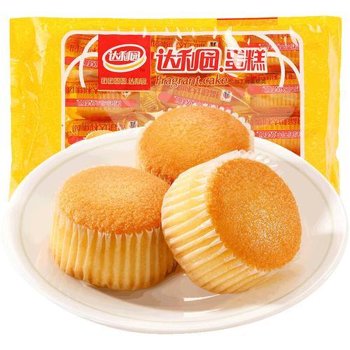 达利园香浓蛋糕蛋香味300g 休闲零食早餐面包蛋糕点心