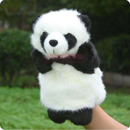 大熊猫手偶儿童玩具宝宝安抚玩偶毛绒手套玩偶讲故事