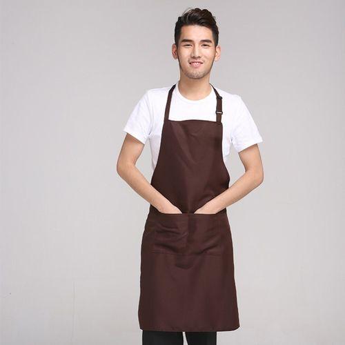 新年做菜简易女士美甲店园艺服务员围裙制作大码美术