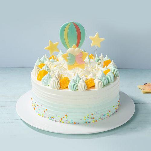 星座蛋糕-甜蜜奶油交织美妙星空,彩糖点缀迷人梦境
