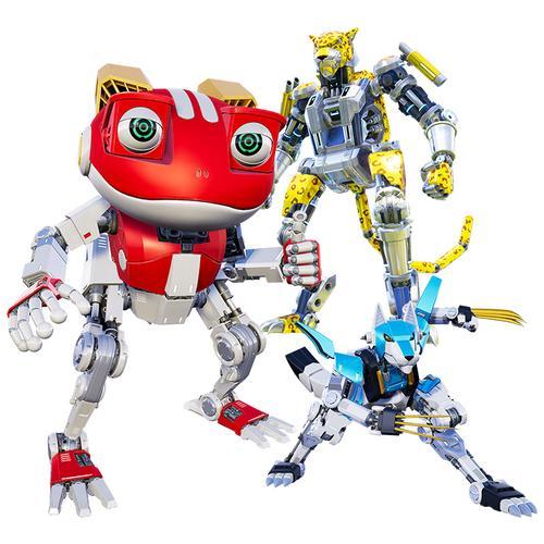 快乐酷宝3正版变形玩具全套变形机器人男孩ar卡派酷