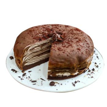 芒果蓝莓草莓巧克力生日蛋糕现做现发 顺丰发货 法式榛子巧克力千层