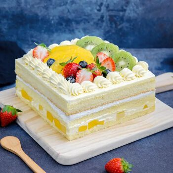 网红抖音小红书动物奶油安佳淡奶油生日蛋糕全国同城当天送达南京
