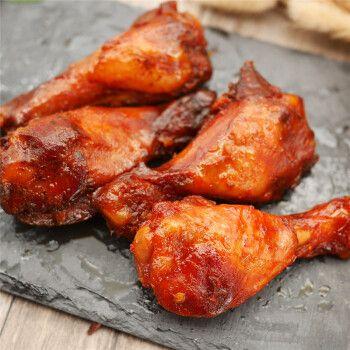 啃馋你烤小鸡腿鸡翅根16只336g香辣奥尔良味蜜汁卤味肉类零食整箱 甜