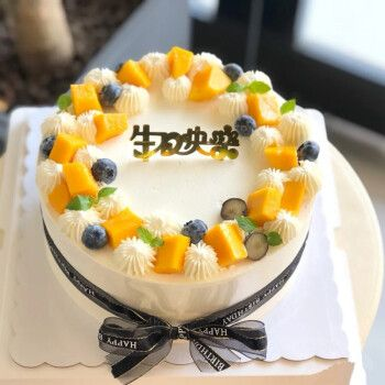 食锦谣生日蛋糕预定送老婆女友闺蜜生日礼物新鲜定制水果网红蛋糕全国