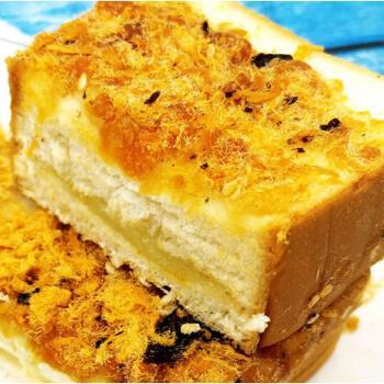 肉松面包海苔夹心土司奶乳酪紫米吐司片代早餐糕点整箱 肉松吐司500g