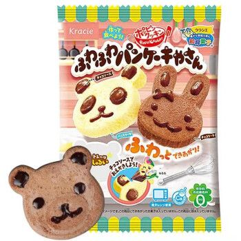 日本进口食玩 嘉娜宝(kracie) 小熊小兔蛋糕造型糖果