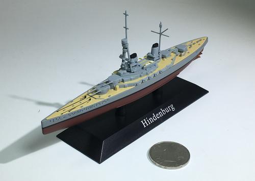 军舰模型德国兴登堡号/hindenburg战列巡洋舰战舰世界