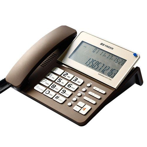 218 电话机商务办公室大屏幕翻屏免提通话语音报号总