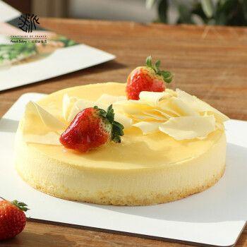 法派1855法式纯手工烘焙浓郁美式纽约芝士纯乳酪蛋糕奶油生日蛋糕网红