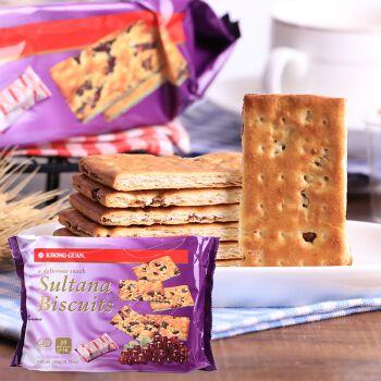 新加坡提子葡萄夹心饼干260g 儿时回忆怀旧小吃进口