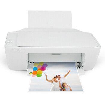 惠普(hp)deskjet 2132彩色喷墨打印机一体机 多功能