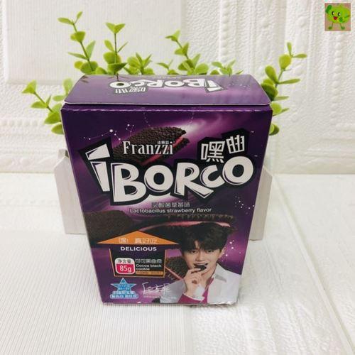 法丽兹嘿曲可可黑曲奇85g布朗尼巧克力味乳酸菌草莓味香草冰淇淋