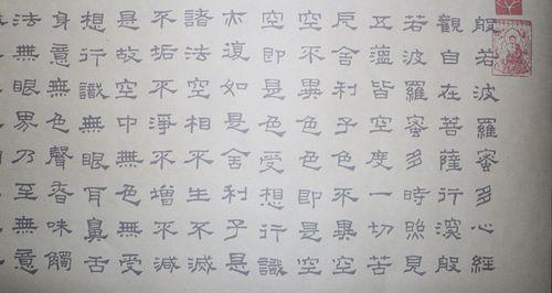 隶书心经水写布毛笔书法练字清水反复书写 免纸墨描红