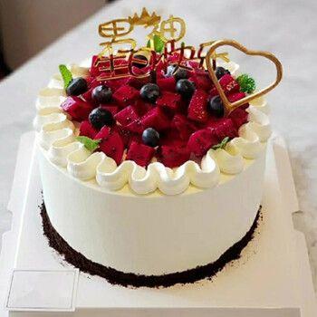 南茶郎生日蛋糕同城配送全国配送当天送到水果蛋糕儿童蛋糕预定