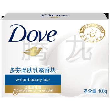 多芬柔肤乳霜香块单块装100g*3块特惠装黄瓜绿茶香氛保湿滋润清透盈润