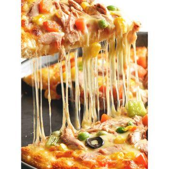 芝士碎拉丝家用马苏里拉做披萨用的500片条烘焙粒奶酪