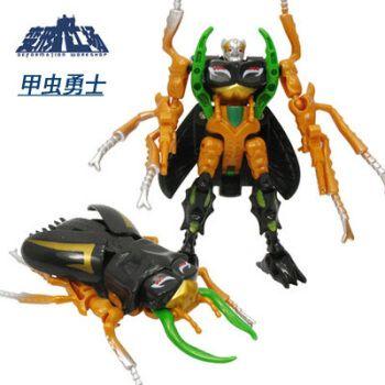 猛兽侠超能勇士变形工场经典变形玩具金刚加强级猩猩队长恐龙 06 甲虫