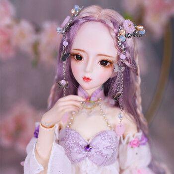 德必胜芭比娃娃套装大礼盒bjd娃娃玩具女孩大号60厘米