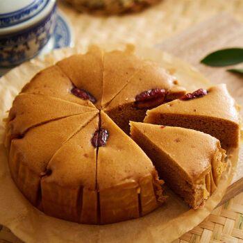 红糖发糕400g*2包龙游红枣糕蒸糕发糕速冻营养早餐早点状元糕酒席宴会