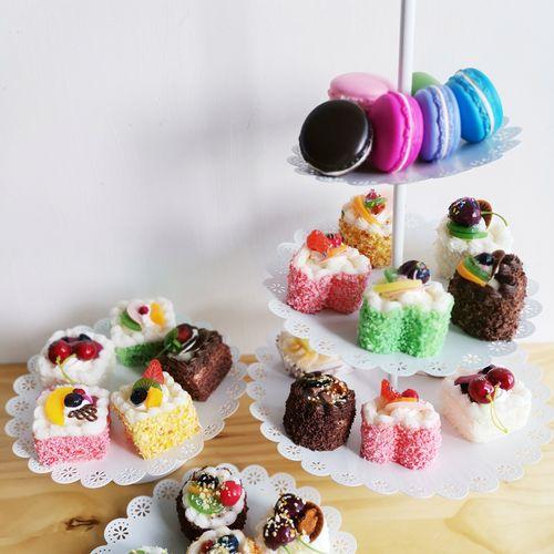 lmdec小西点食物模型 真手感糕点蛋糕点心橱窗
