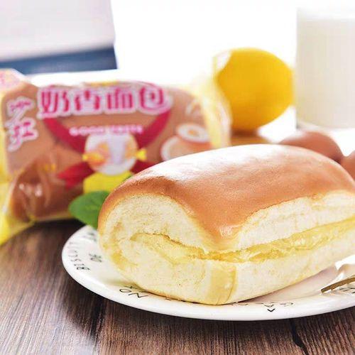 沙拉奶香面包夹心软面包早餐面包糕点心零食300g包邮