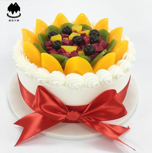 欧式水果蛋糕模型2019新款生日假蛋糕塑胶样品t997