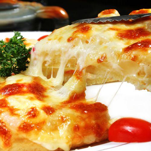 阿克力 夏威夷风情匹萨  菠萝番茄水果成品披萨  8寸