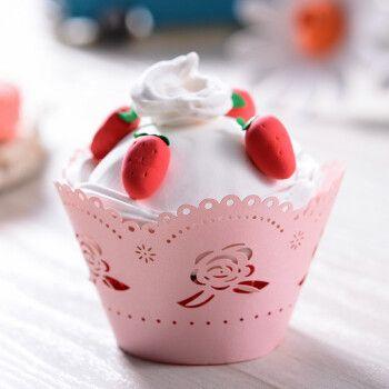 黏土粘土橡皮泥珍珠泥新年春节亲子宝宝自制冰淇淋甜筒雪糕 草莓蛋糕