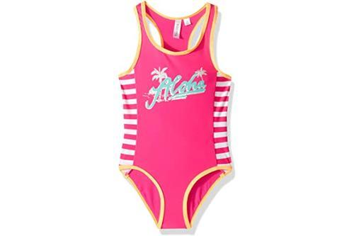 big chill 女童带趣味图案小连体泳衣