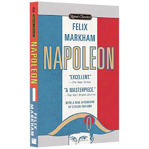现货正版 拿破仑传 napoleon 英文原版 经典名著 人物