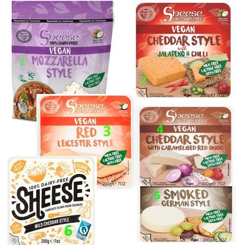 英国sheese vegan cheese奶酪mozzarella/cheddar