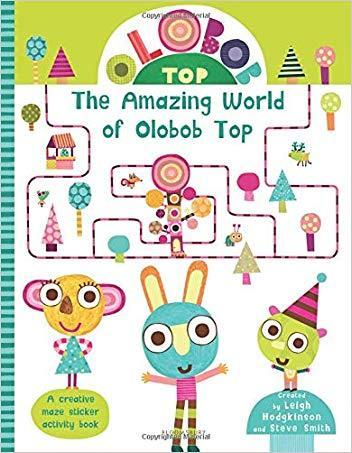olobob top系列:神奇的世界 学习数字和形状贴纸书 英文进口原版 /olo