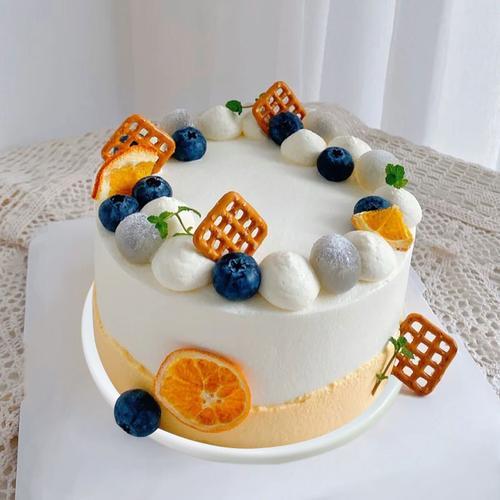 蛋糕模型仿真2021网红流行新款欧式水果生日蛋糕塑胶