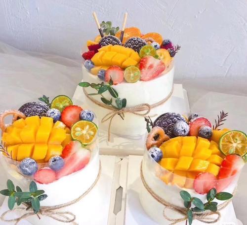 四寸水果蛋糕
