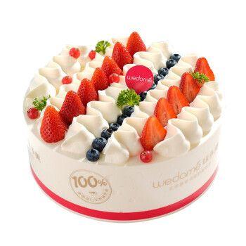 味多美 生日蛋糕 天然奶油 水果蛋糕 同城配送