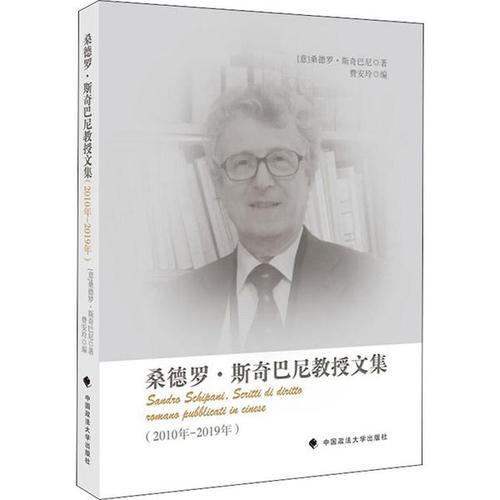 【二手99成新】桑德罗·斯奇巴尼教授文集(2010年-2019年) 正版