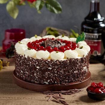 【同城配送】85度c  慕斯巧克力 水果巧克力 新鲜生日蛋糕 甜品 醇醇