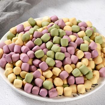 绿茶全麦口味小石头饼干180g耐吃零食解馋晚上解饿卡无糖办公室 【0加