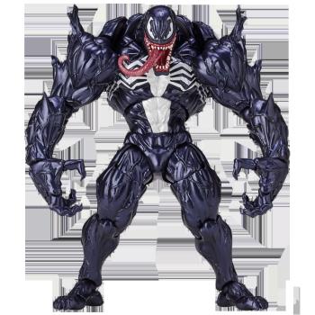 米哒奇 新款哥斯拉漫威猛毒蜘蛛侠毒液致命守护者可动