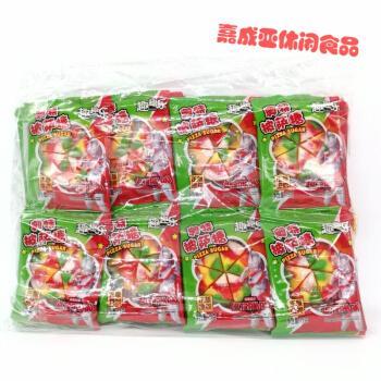 【严选好物】奥特曼披萨糖披萨橡皮糖一包40袋qq糖果汁软糖混合水果味