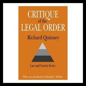 【预售】critique of legal order: crime control in