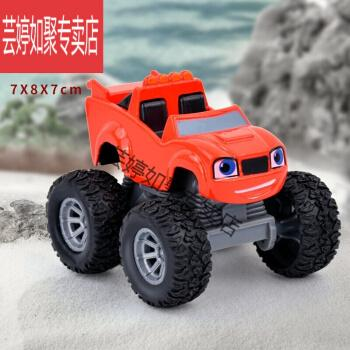 飙速战车旋风玩具战车队合金车模机器宝宝小汽车巴士怪兽卡车越野男孩