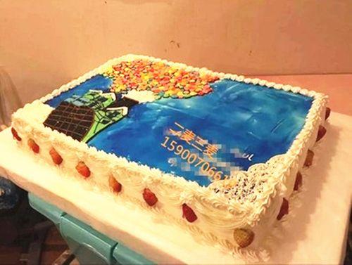 上海蛋糕 手绘蛋糕 开业 庆典 周年庆 logo 生日