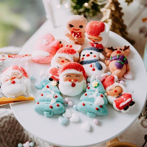 圣诞节蛋糕装饰小插件品摆件插牌网红烘焙配件纸杯