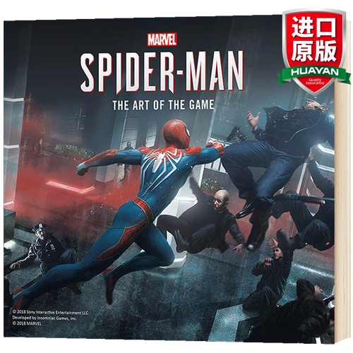 英文原版 漫威蜘蛛侠 marvel's spider-man 游戏艺术