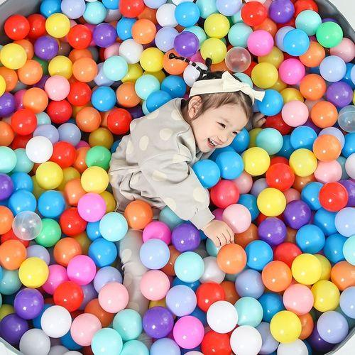 塑料围栏小球家用小童泡泡球厂家海洋球婴儿可啃咬无