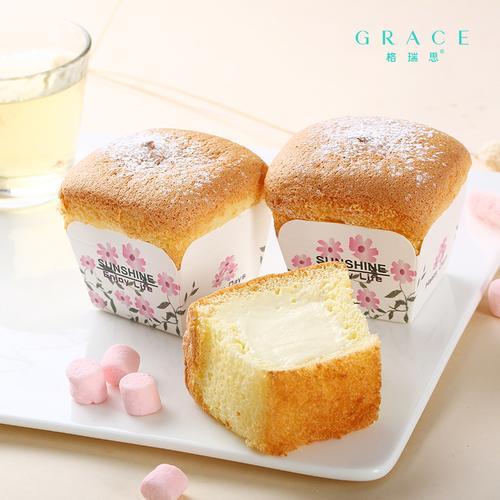 北海道戚风蛋糕1盒(3个)